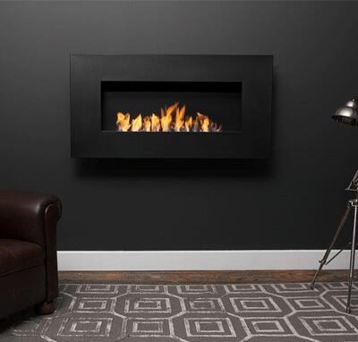 Icon Nero 1150 Wall Fireplace