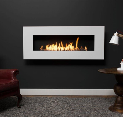 Icon Nero 1450 Wall Fireplace