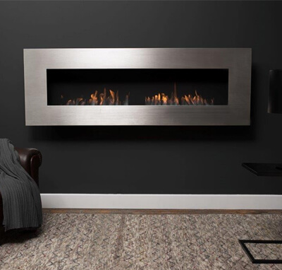 Icon Nero 1750 Wall Fireplace