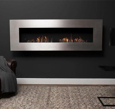 Icon Nero 1750 Wall Fireplace