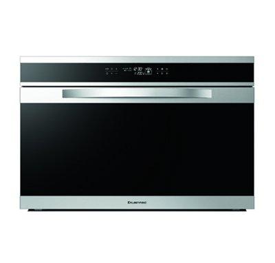 Ovans Black Krystal Oven 90cm