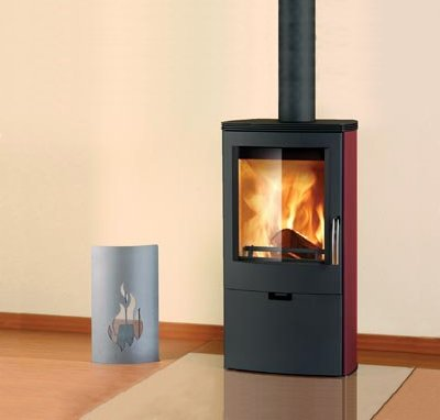 Wood Heating Falun Steel Range