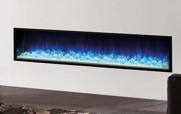 Modern Flame Electric Fire 01