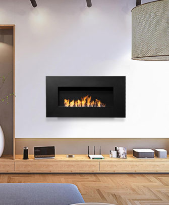 Nero 1150 Wall Fireplace