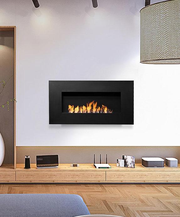 Nero 1150 Wall Fireplace