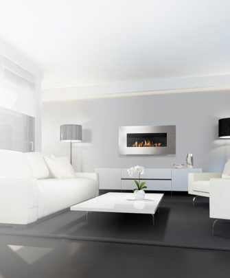 Nero 1450 Wall Fireplace