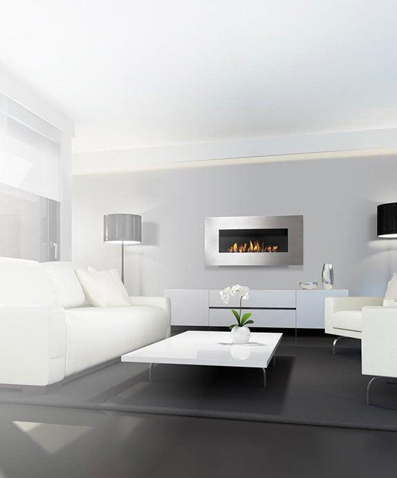 Nero 1450 Wall Fireplace