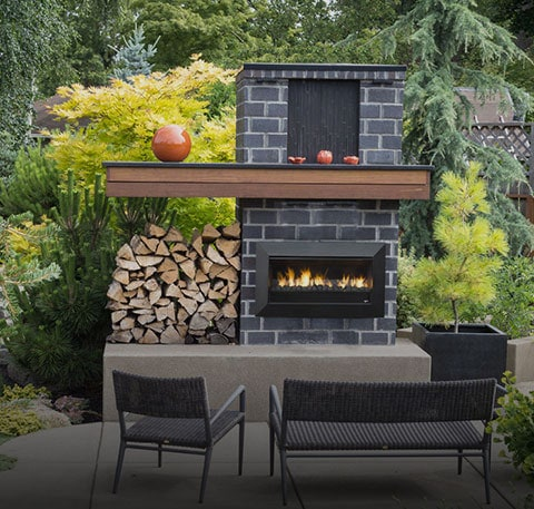 Outdoor Gas Fire